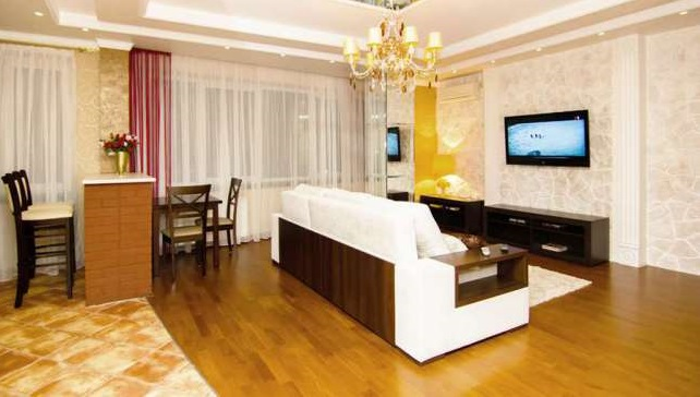 Luxury apartment for daily rent in Kharkov