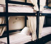 Room for eight beds in new premium hostel